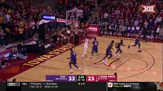 TCU vs Iowa State Men's Basketball Highlights