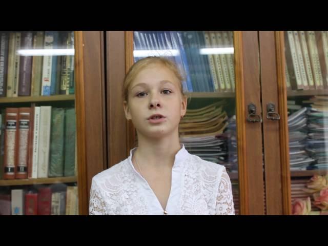 Виктория Маянцева читает произведение «Первый утренник, серебряный мороз» (Бунин Иван Алексеевич)