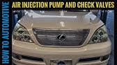 Secondary air injection pump Lexus gx470 & toyota code p2445 video 1