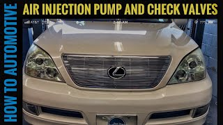 How to Replace the Secondary Air Injection Pump and Check Valves on a 2002-2009 Lexus GX470(, 2017-03-08T07:46:22.000Z)