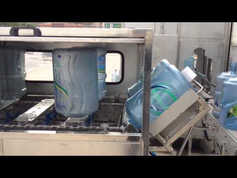 Completely water purification and 5gallon bottled water plant -1