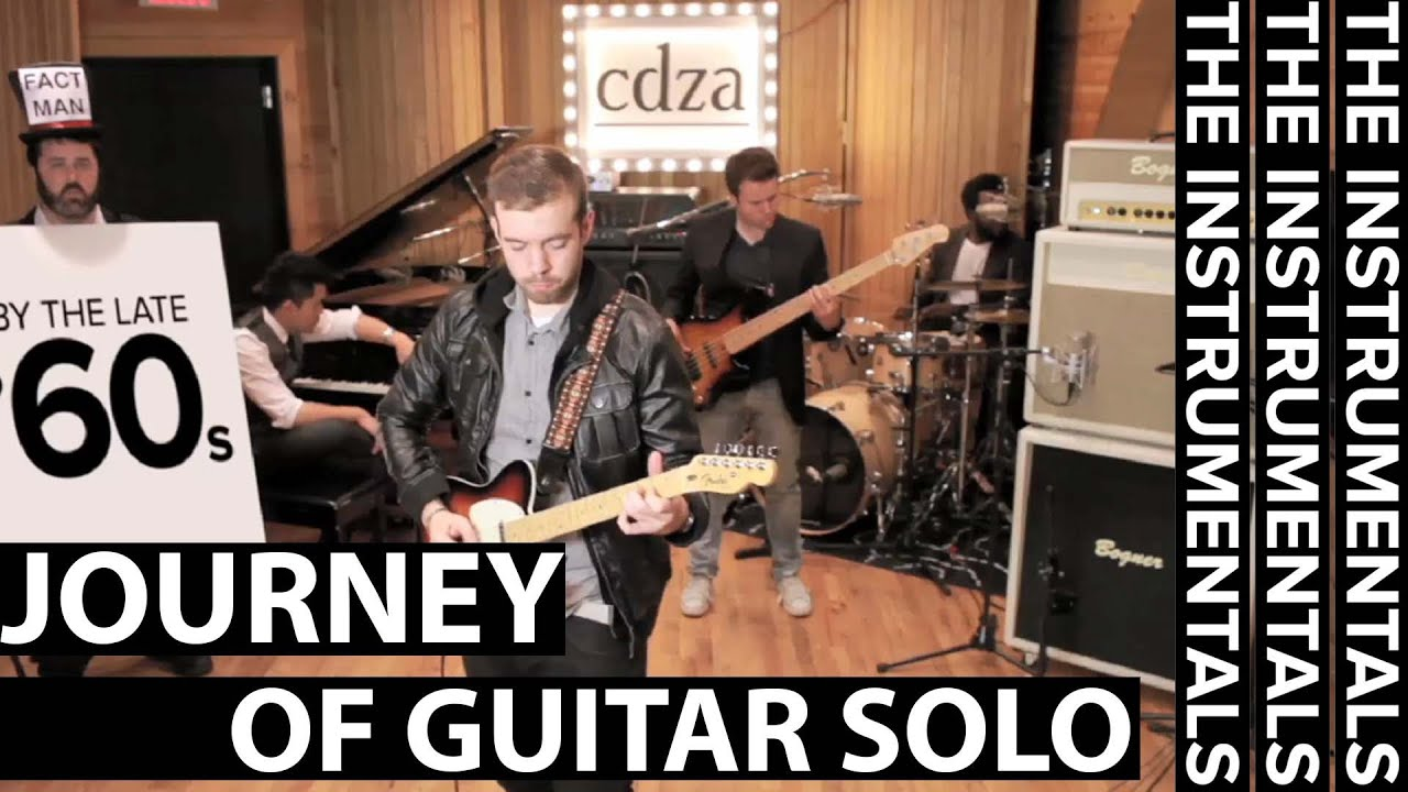 Journey Of Guitar Solo THE INSTRUMENTALS Episode YouTube - Musical history guitar solo
