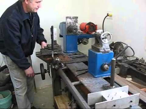 Home Made Lathe For Large Unique Wood Turnings Youtube