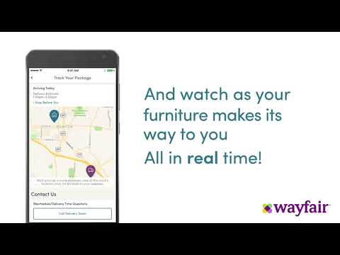 Wayfair - Day of Delivery Tracking