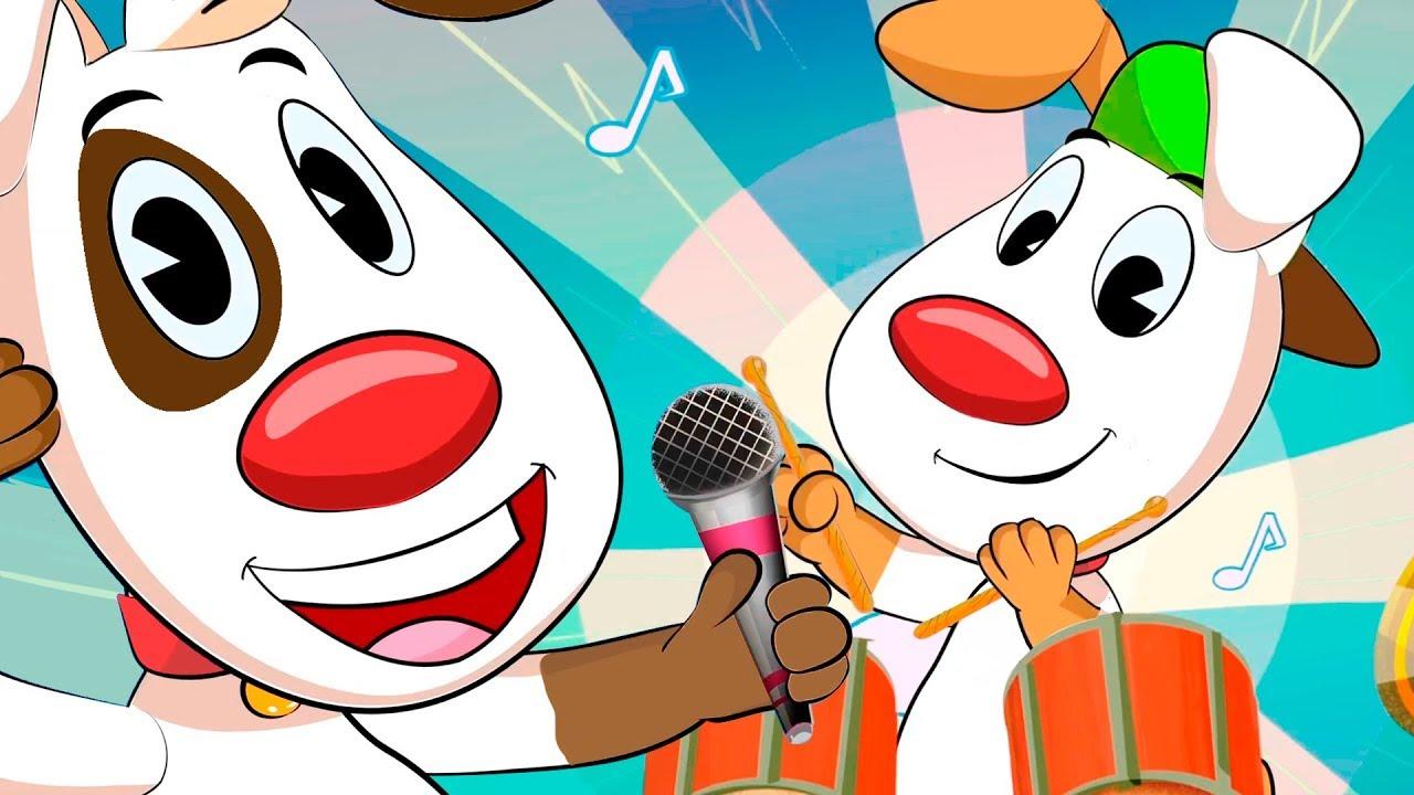LOS DIEZ PERRITOS, canciones infantiles