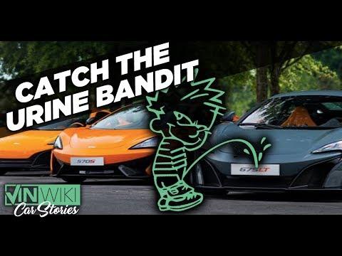 Catching the Urine Bandit