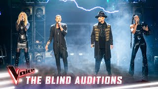The Blind Auditions: The Coaches sing 'In The Air Tonight'