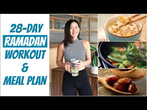 28-Day Ramadan Workout & Meal Plan | Joanna Soh | #FitterFasting