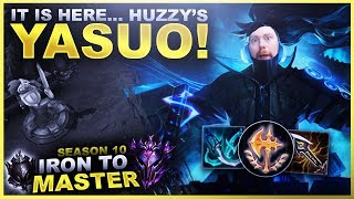 IT IS HERE... HUZZY'S YASUO! - Iron to Master S10 | League of Legends