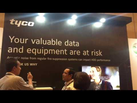 Tyco Fire Protection Products showcases Acoustic Solution at DCD Jakarta Conference 2017