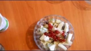 Фруктовый салат. Низкокалорийные рецепты