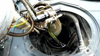 топливный насос, как снять, почистить