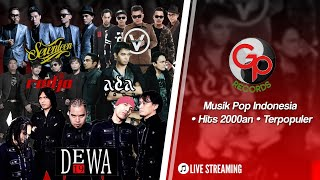 Gambar cover 🔴 (LIVE) Musik Pop Indonesia • Hits 2000an • Terpopuler #LiveMusicStream