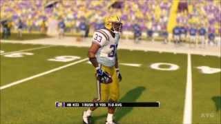 NCAA Football 14 - LSU Tigers vs. Florida Gators Gameplay [HD]