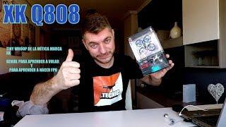 DRONE XK Q808, WLTOYS Q808 TINY WHOOP control de altura genial para aprender