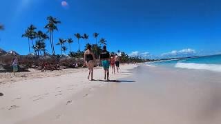 Beach Walk in Punta Cana Dominican Republic 2019