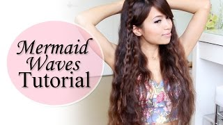 Mermaid Waves Hair Tutorial feat. NuMe Pentacle Wand Deep Waver Thumbnail