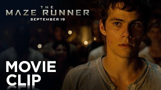 "The Maze Runner | ""Fight"" Clip [HD] 