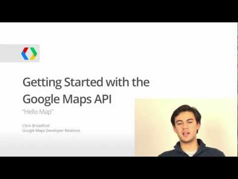 Hello Map: Getting Started With The Google Maps API