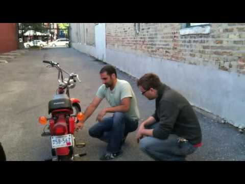 Moped meets Phil - YouTube