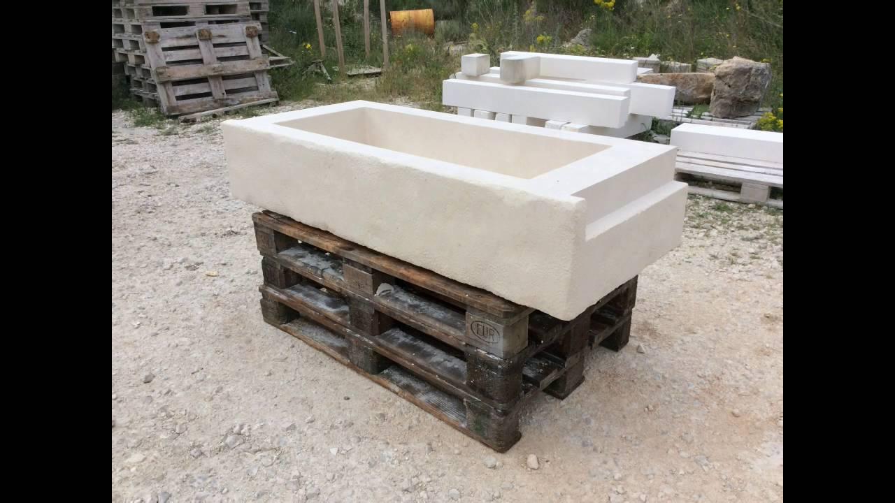Vasca Da Bagno Artigianale : Lavandino artigianale in pietra youtube