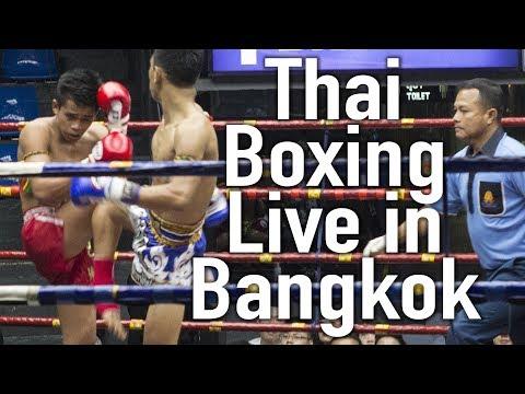 Live Muay Thai in Bangkok's Oldest Thai Boxing Stadium
