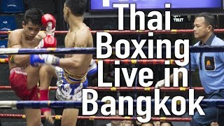Live Muay Thai in Bangkok