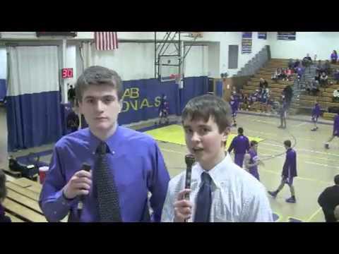 Acton Boxborough Varsity Boys Basketball vs Boston Latin 1/10/14