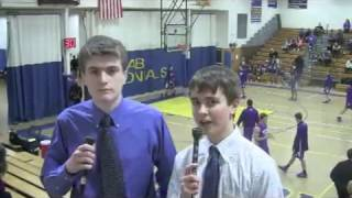 Acton Boxborough Varsity Boys Basketball vs Boston Latin 1/10/14