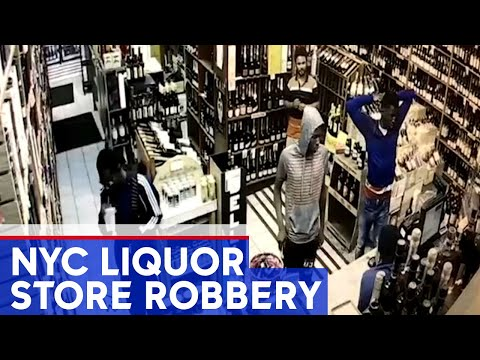 Worker hit with bottle at NYC liquor store