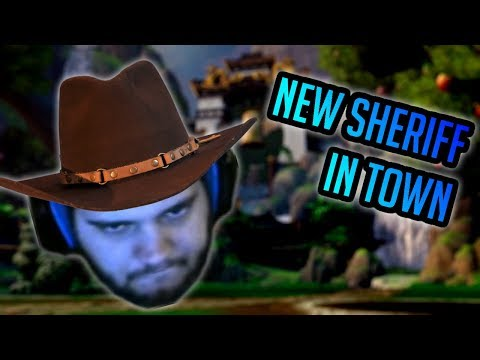 Smite - I AM THE SHERIFF, I BRING THE LAW - Grandmasters Ranked 1v1 Duel