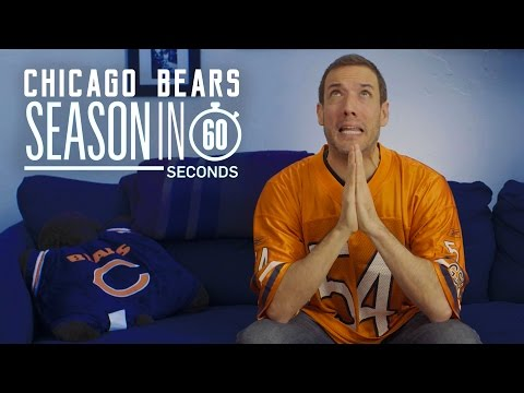 Chicago Bears Fans | Season in 60 Seconds