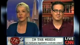 Announcing JustSayNow.com - Jane Hamsher on CNN: Pot laws unpopular, racist, unfair