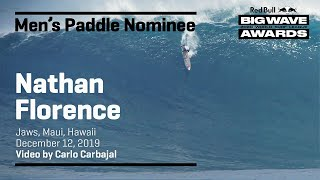 Nathan Florence at Jaws | MEN'S PADDLE AWARD NOMINEES - Red Bull Big Wave Awards