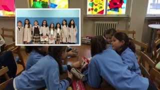 DFC Spain Teresa en el colegio  FET  Sta Teresa de Jesús  Valladolid