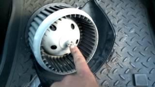 Жөндеу моторчика печки astra g