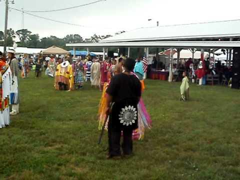 Nanticoke Lenni-Lenape Pow-wow 2011 Intertribal 2 songs