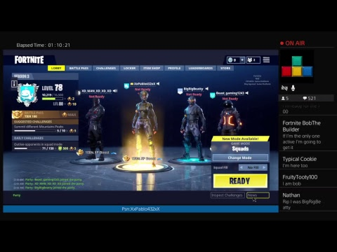 Fortnite LIVE! Join up//Save the world code for free ...