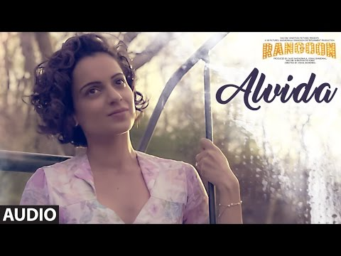 Alvida Full Audio Song  Rangoon  Saif Ali Khan, Kangana Ranaut, Shahid Kapoor  TSeries
