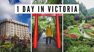 Visiting Victoria, Bc In 1 Day! | Butchart Gardens + Afternoon Tea + Downtown Victoria Tour