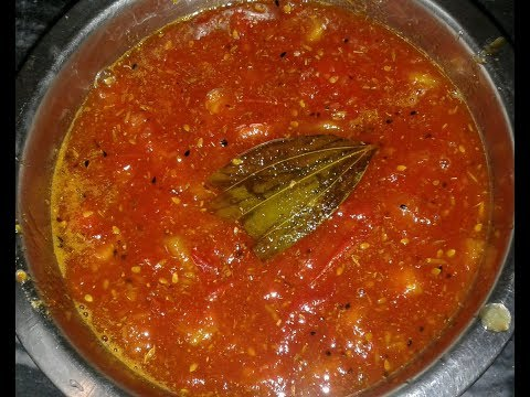 Chutney Recipe I How To Make Tomato Chutney I Bengali Recipe I Sweet Chutney #Reshmikitchenfoodnfun