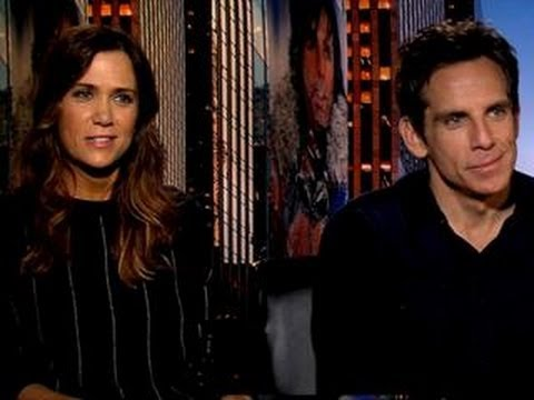 'Mitty' Stars Kristen & Ben on Online Dating