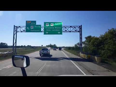 BigRigTravels LIVE! Menasha to Wausau, Wisconsin US 10, Interstate 39-Sept. 10, 2018