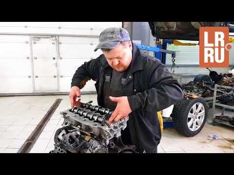 Сборка дизельного мотора TDV6 2.7 Land Rover Discovery III