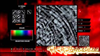 WWE 2K14 Paint Tools INK #1 - How to make!!! Amazing Chest/Arm/Back Tattoo !! (Speed Art)