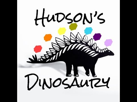 Hudson's Dinosaury Shadow Puppet Teaches Him About Chakras - Children's Bedtime Story/Meditation