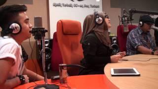 Sesaat Kau Datang by Ramlah Ram feat SleeQ (Live Version) @ Breakfast Suria Radio SuriaFM