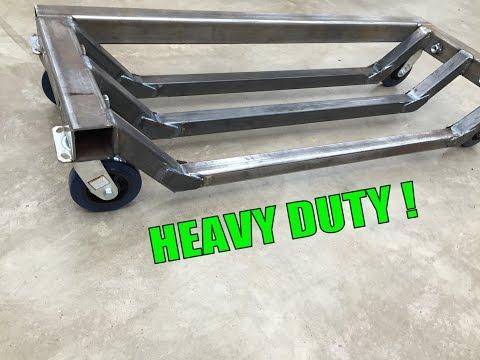 Metalwork Monday - Heavy Machine Dolly Fabrication