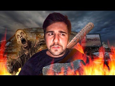 SUPERVIVENCIA EXTREMA ... ZOMBIES THE WALKING DEAD ! - ElChurches