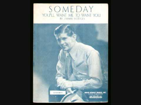 Elton Britt - Someday (You'll Want Me To Want You) (1946)